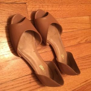 Nine West Peep toe Dorsey flat